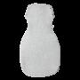 Sleeppee Snuggee Grey Marl back view