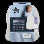 Grey marl swaddle wrap packaging