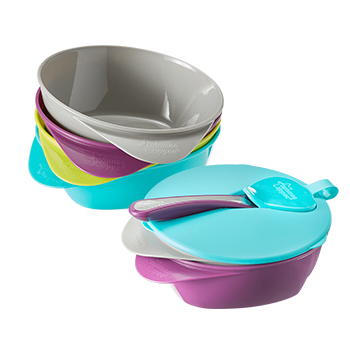 easy scoop feeding bowls in choice of colours