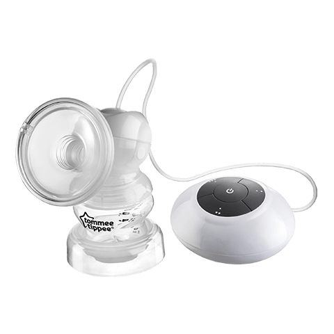 Electric Breast Pump in white