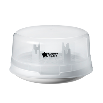 Micro-Steam Microwave Steriliser White