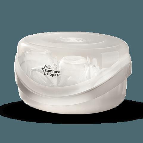 Microwave Steam Steriliser in white