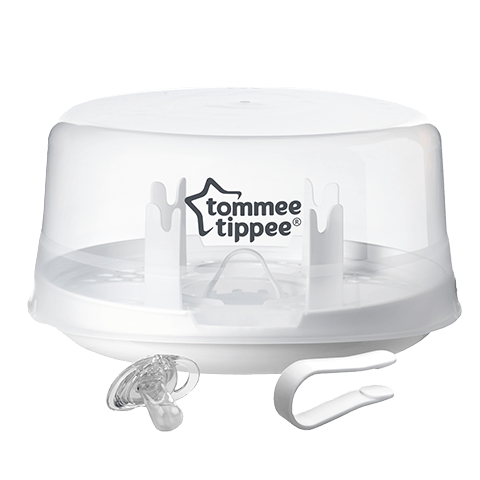 White Microwave Steam Steriliser