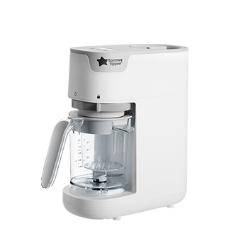 Quick cook baby food maker white