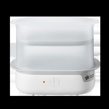 Super-steam electric steriliser in white