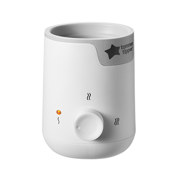 Easi-Warm Bottle & Food Warmer White with Grey accents