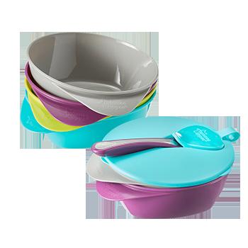 Easy Scoop Feeding Bowls varied colors