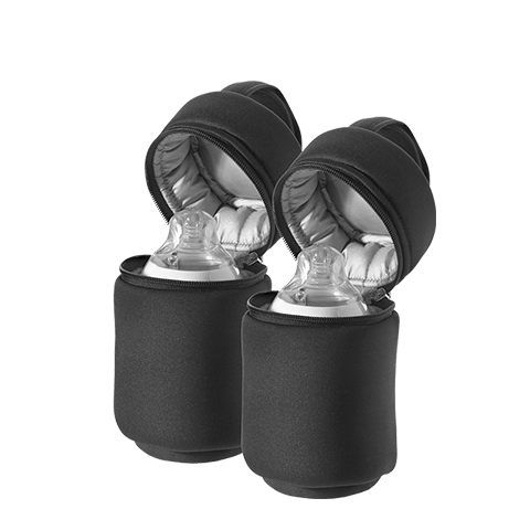 Insulated Bottle Bags Black