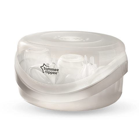 Microwave Steam Sterilizer White